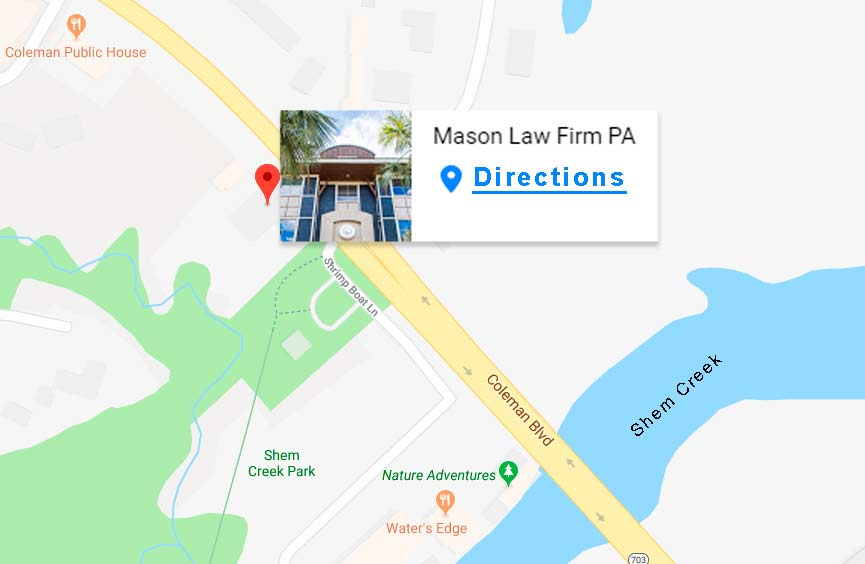 Mason Law Firm - Main Office on Map