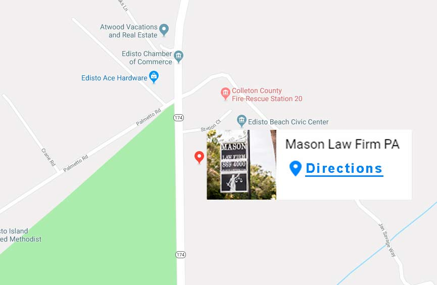 Mason Law Firm - Satellite Office on Map